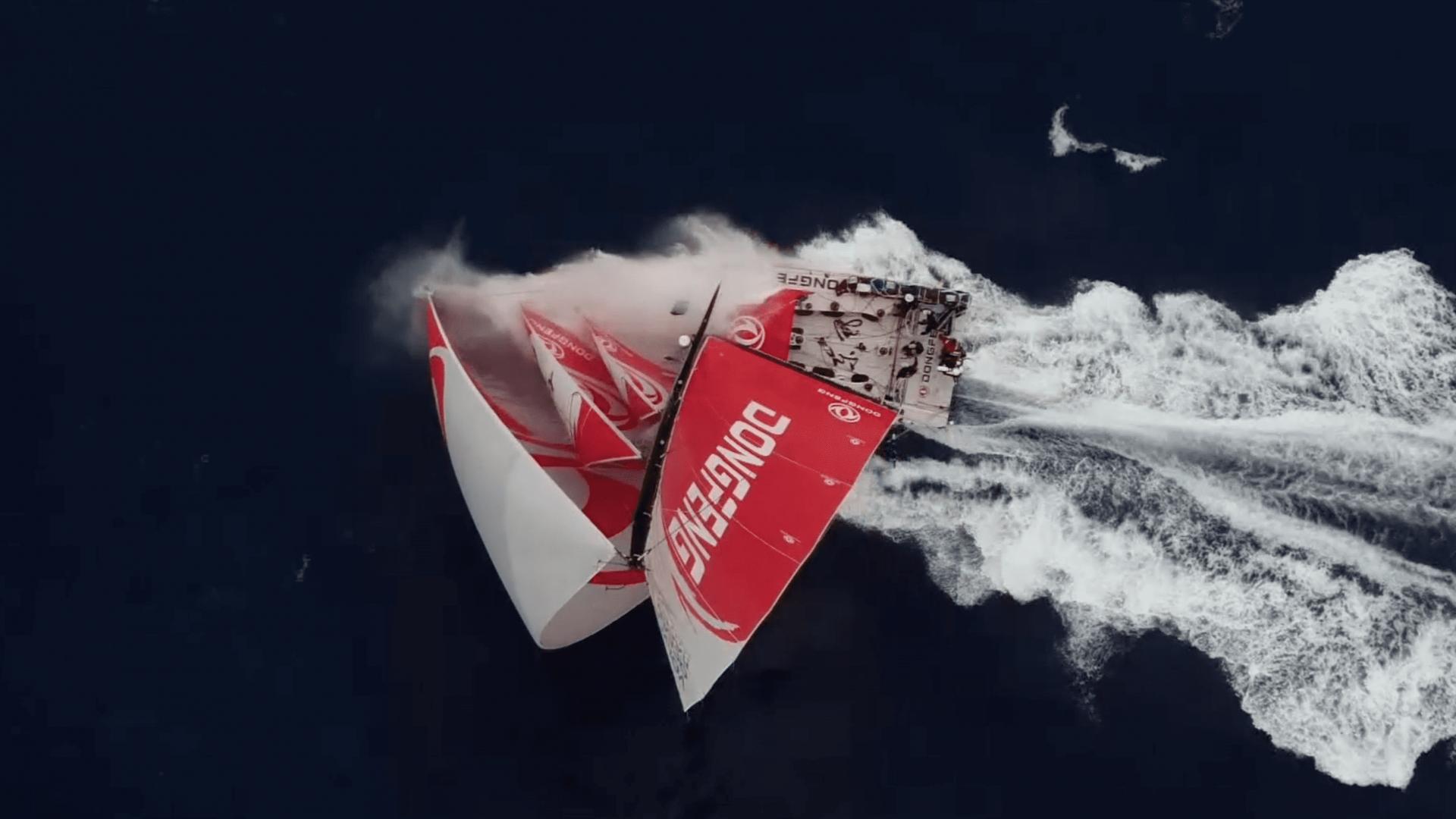 volvo ocean race dongfeng 2018